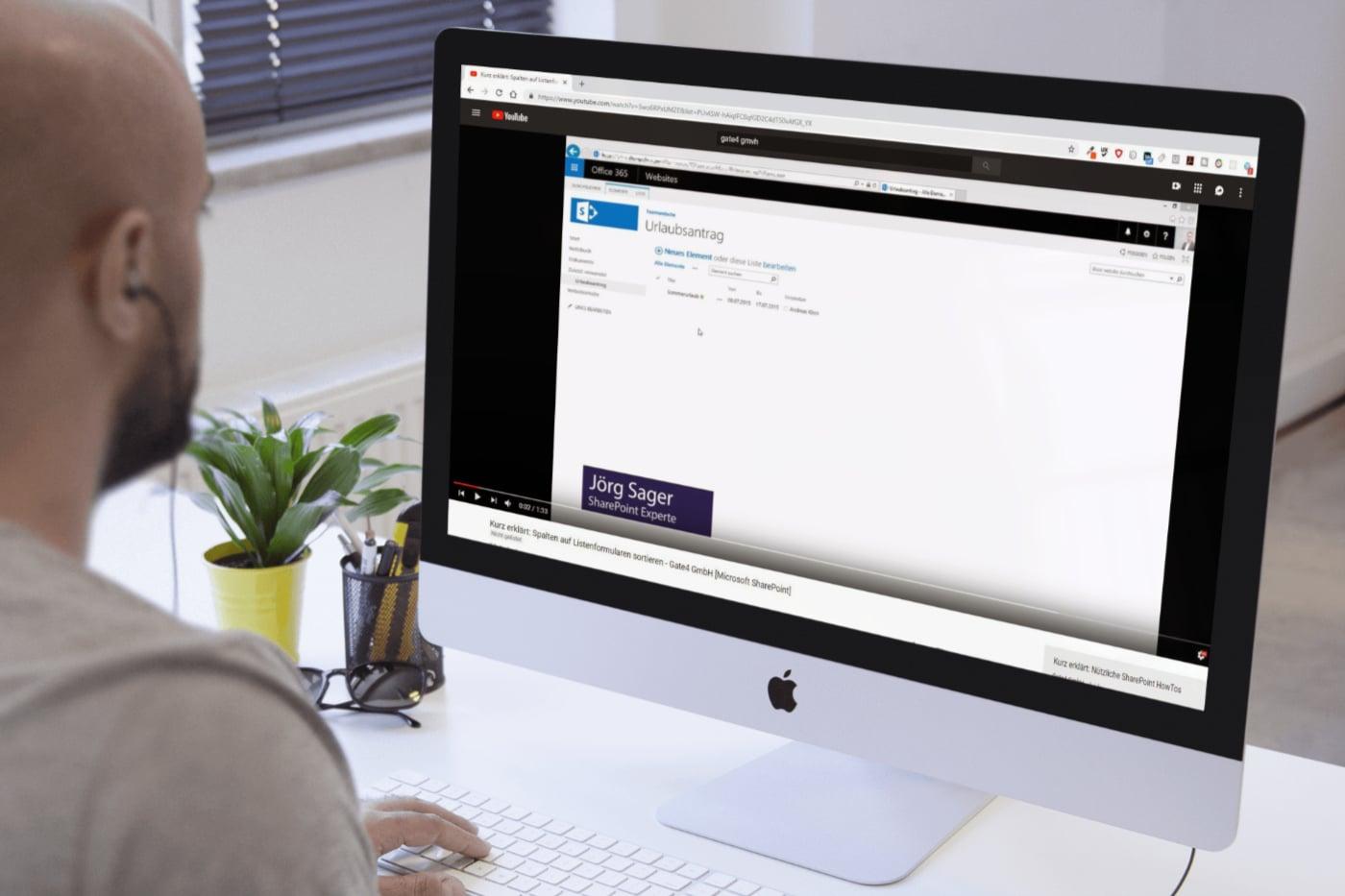 Schulungsvideo Gate4 GmbH Microsoft SharePoint – CR Mediendesig