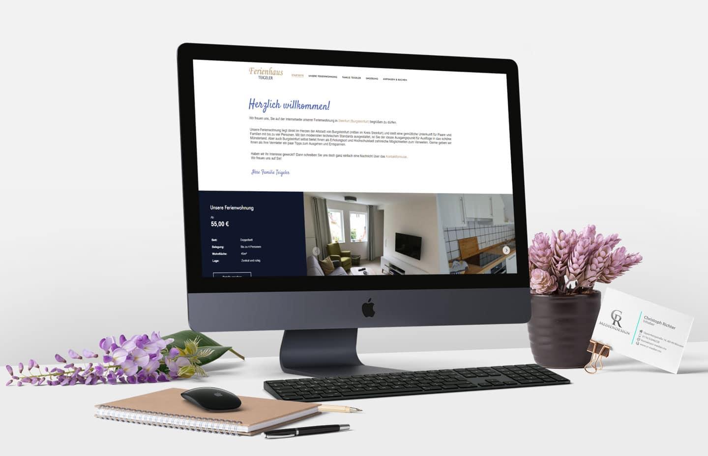 Homepage Ferienhaus Teigeler – Ferienwohnung Steinfurt – CR Mediendesign