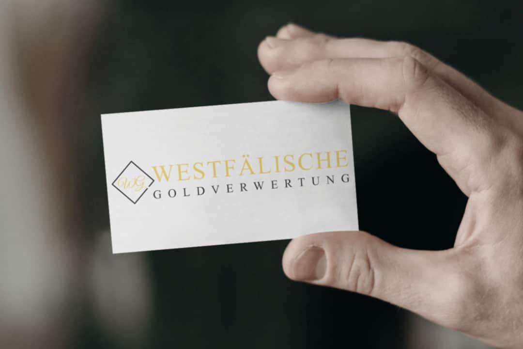 Logodesign Westfälische Goldverwertung in Warendorf
